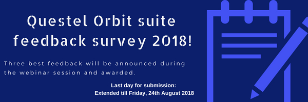 Questel Orbit survey 2018